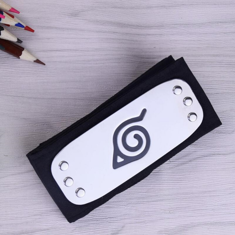 Anime Naruto Headband For Itachi Kakashi Cosplay Props Akatsuki Headband Halloween Costumes Props
