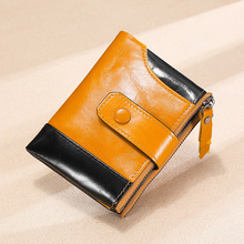 men wallets top pu leather vintage design purse men brand famous card holder mens wallet carteira masculina wholesale price Genuine Leather men wallets Clutch 2020 New Fashion Real Leather Purse card holder mens wallets and purses carteira masculina