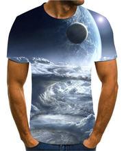 Новая цветная футболка с 3d принтом для мужчин и женщин Креативный