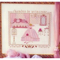 Fishxx Printed on Canvas DMC Counted Chinese Cross Stitch Kits set Embroidery Needlework Princess pink bedroom