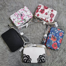 2020 New Cases Shoulder Messenger Bags Chain Small Package Pattern Flowers