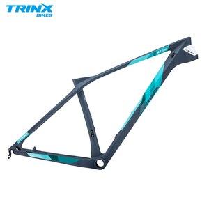 TRINX T800 Carbon Bicycle Frame Carbon MTB Frame 29er 27.5 27.5+ Carbon Mountain Bike Frame(China)