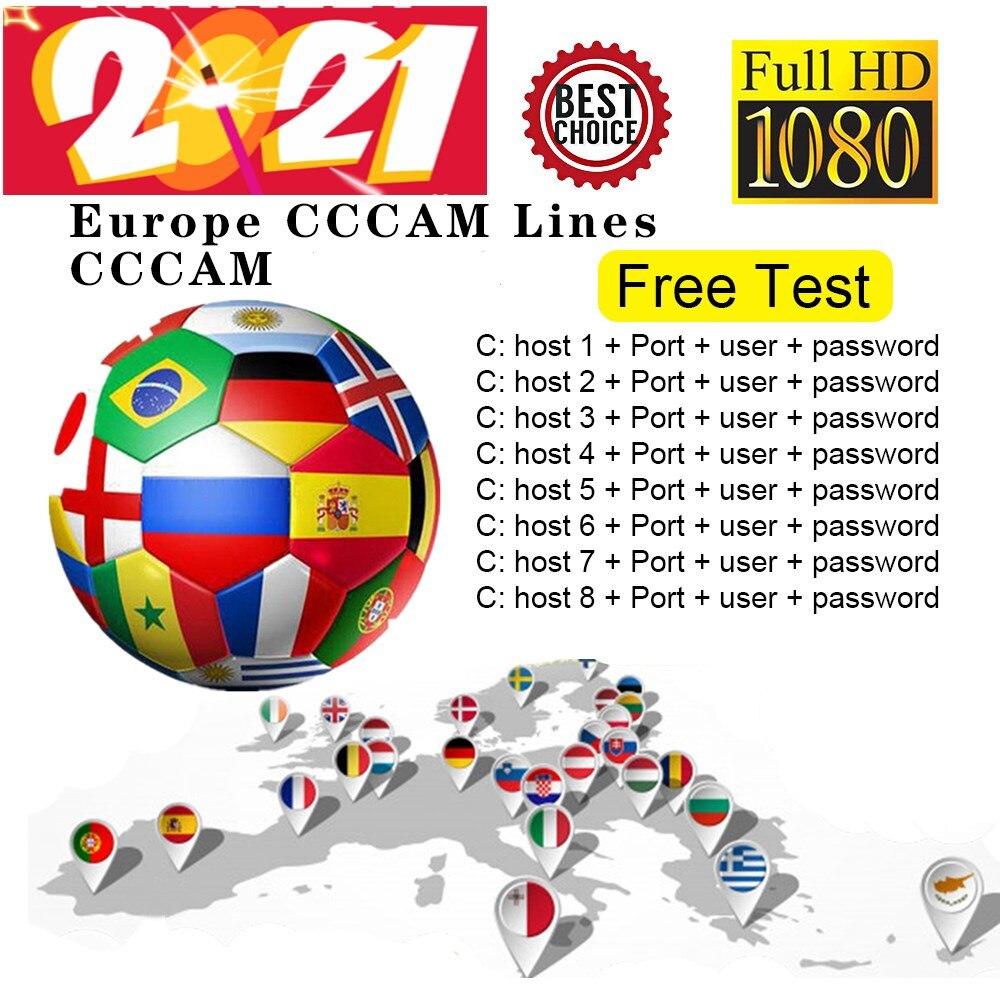 Receptor de teste gratuito de tv av cabo linhas para 8 linhas receptor de tv gtmedia v8 nova v7s v9 freesat v7
