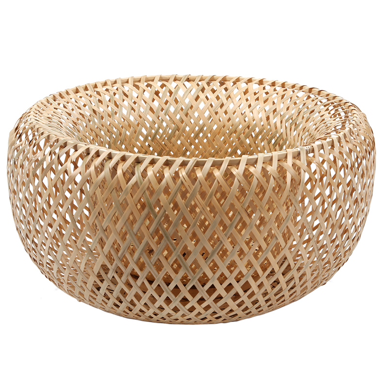 Modern Bamboo Work Hand Knitted Bamboo Weaving Chandelier Restaurant Handmade Shade|Lamp Covers & Shades| |  - title=