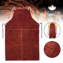 60cm*90cm Welding Apron Welder Heat Insulation Protection Co