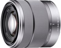 Smartphone sony alpha sel1855, lente e-mount de 18-55mm