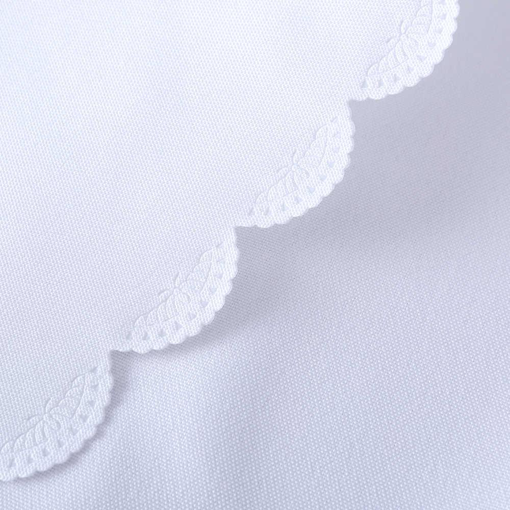 Di Colore solido Bianco 100% Poliestere Tovaglia Sala Da Pranzo Panno di Tabella Rettangolo Pianura Rosso Della Copertura di Tabella