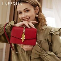 LAFESTIN 2020 début printemps nouvelles femmes sac mode exquise épaule petit carré breloque pour sac sac à bandoulière