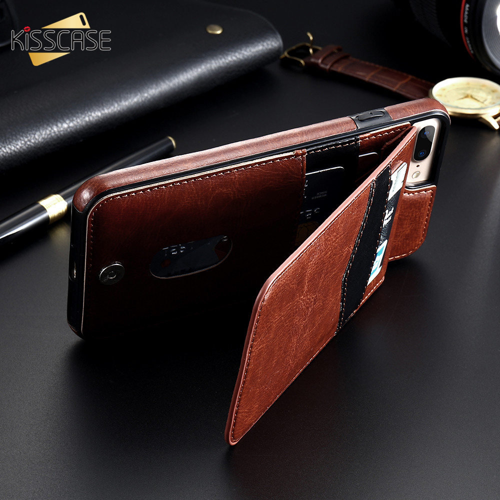 Hd6909abbe574498a9c13bf1b27aafe70M KISSCASE Vertical Flip Card Holder Leather Case For iPhone 6s Cover For iPhone 7 Wallet Case 8 XR 11PRO MAX 11 чехол на айфон 6s