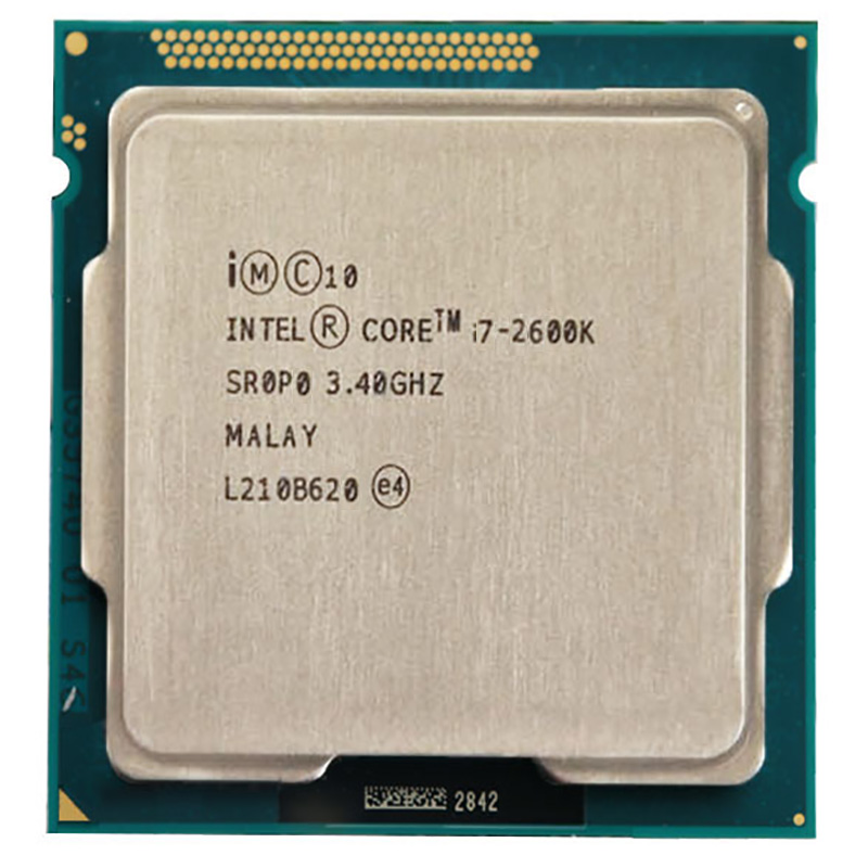 Intel Core i7 2600k 3.4GHz CPU Quad Core i7-2600k/95 W/LGA1155 CPU de Desktop