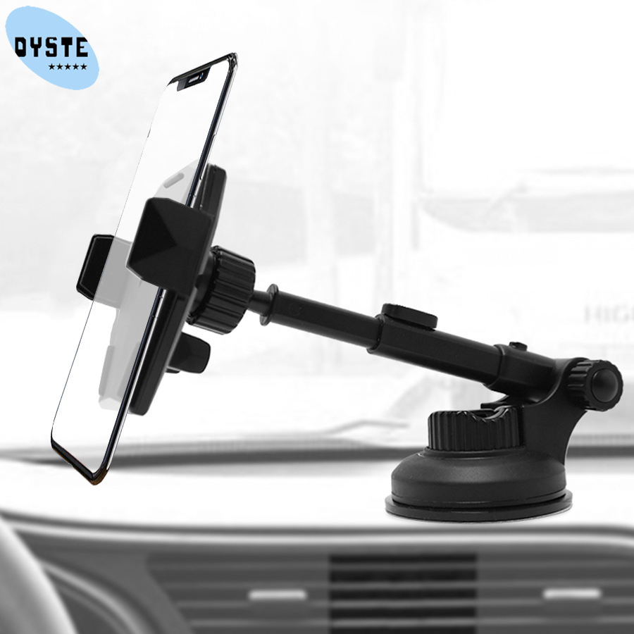 Car Phone Holder For Huawei P30 P20 Pro Lite Honor 20 10 9 Mate 20 10 Windshield Mobile Cell Car Holder Support Smartphone Stand