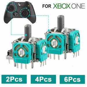 4x Game Accessories Replacement 3D Controller Joystick Axis Analog Sensor Module For Xbox One/joy Con
