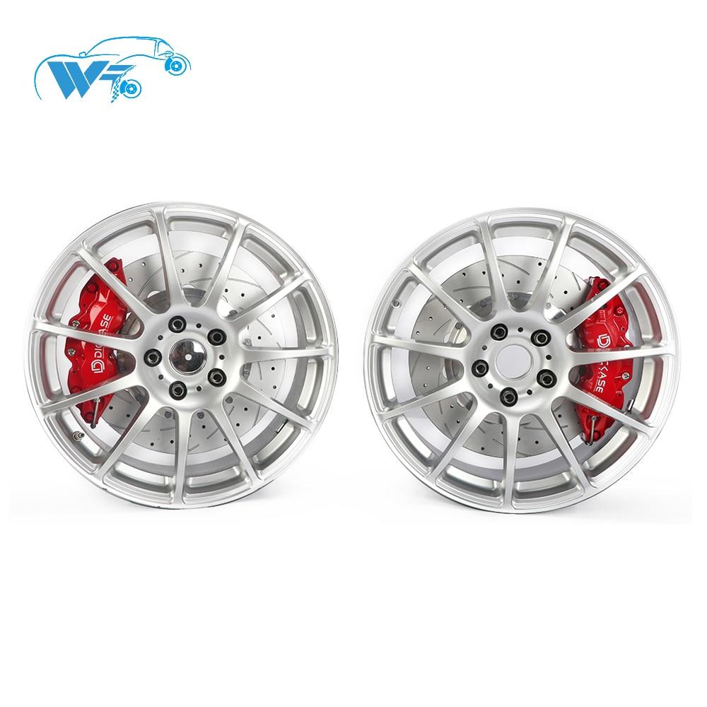 upgraded cars brake system DICASE A61 6 pot brake caliper 380mm disc for BMW e92