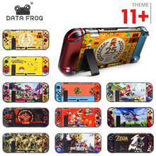 Data Frog Protective Case Shell for Nintend Switch Back Cover for Nitendo Switch NS NX with Joy-Con Controller Direct Docking(China)