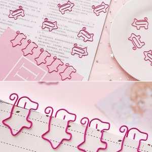 Paper-Clip Bookmark Pig Office-Supplies Cute Small Creative Cartoon Roll-Tail-Pig Soft