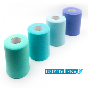 Image 5 - Tulle Roll 100 Yards Organza Wedding Decoration TUTU Baby Shower Tulle Roll 15cm Decoration Party And Events Engagement Decor