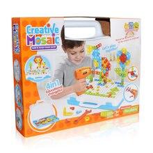 Детский Электрический игрушечные дрели гайка разборки матч инструмент