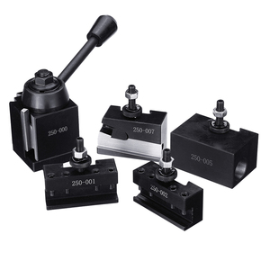 Image 1 - DMC 250 000 Cuniform GIB Type Quick Change Tools Kit Tool Post Holder 250 001 010 Tool Holder for Lathe Tools