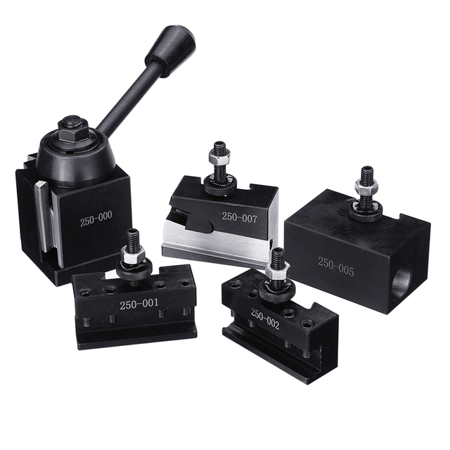 DMC 250 000 Cuniform GIB Type Quick Change Tools Kit Tool Post Holder 250 001 010 Tool Holder for Lathe Tools