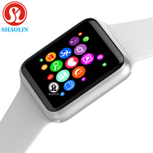 Умные часы серии 4 для Apple, 42 мм, фитнес трекер, шагомер, датчик активности, пульсометр (красная кнопка)