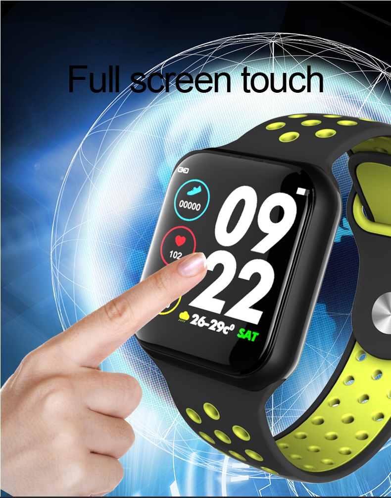 F8 Smart Watch Women Men Bracelet SmartWatch Blood Pressure Fitness Bracelet Tracker For IOS Pk iwo 8 B57 S226 Smart Watch Band