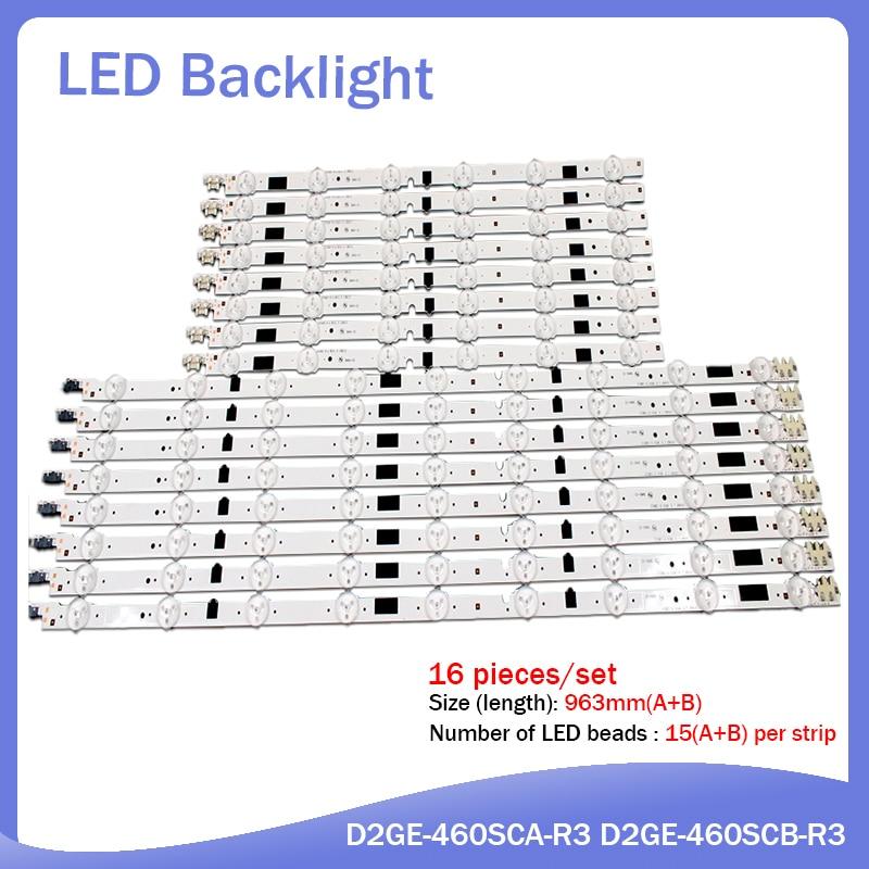 """תאורה אחורית LED אור הניאון תאורה אחורית עבור Samsung 46 """"טלוויזיה UA46F5080 2013SVS46F UA46F5500 UA46F6100 UA46F6420AJ F5500AJ UA46F6100AJ UA46F6420AJ (1)"""