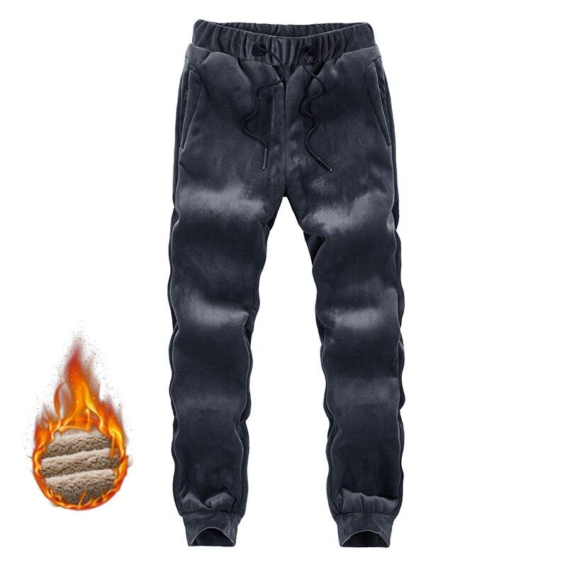2021 новые зимние теплые штаны для бега мужские 6XL 8XL брюки большого размера модные повседневные утепленные Спортивные штаны мужская брендова...