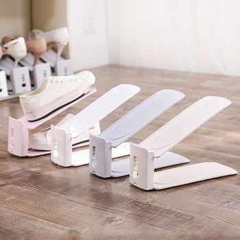 Dwuwarstwowa regulowana torba do przechowywania butów nowoczesna szafka na buty szafka na buty szafka do przechowywania szafka do czyszczenia torba do przechowywania butów półka tanie i dobre opinie CN (pochodzenie) Z tworzywa sztucznego 2017309 Shoe Hanger shoe cabinet closet shoe rack shoe rack shoes space saving Shoe Organizer shoe storage cabinet