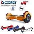 6,5 Дюймов Электрический скейтборд с управлением от приложения Ховерборд 2 колеса электрический скутер баланс Ховер доска скейтборд питание...