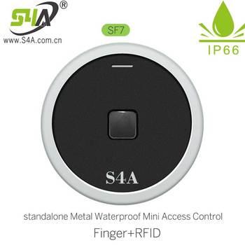 IP66 1000 użytkowników samodzielna kontrola dostępu za pomocą odcisków palców czytnik do zamka drzwi otwieracz bramy RFID kontrola dostępu tanie i dobre opinie