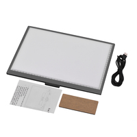LED Artcraft A4 Light Box Tracing Light Copyboard 10 Level Adjustable Brightness Stepless Eye protecting Pad Dimming Powered USB