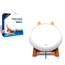 Mini Taiko No Tatsujin Master Drum Controller Traditional Instrument for Sony PS4 Slim Pro yoteen drum controller for nintend switch video game drum master controller motion sensing game taiko drum master accessories