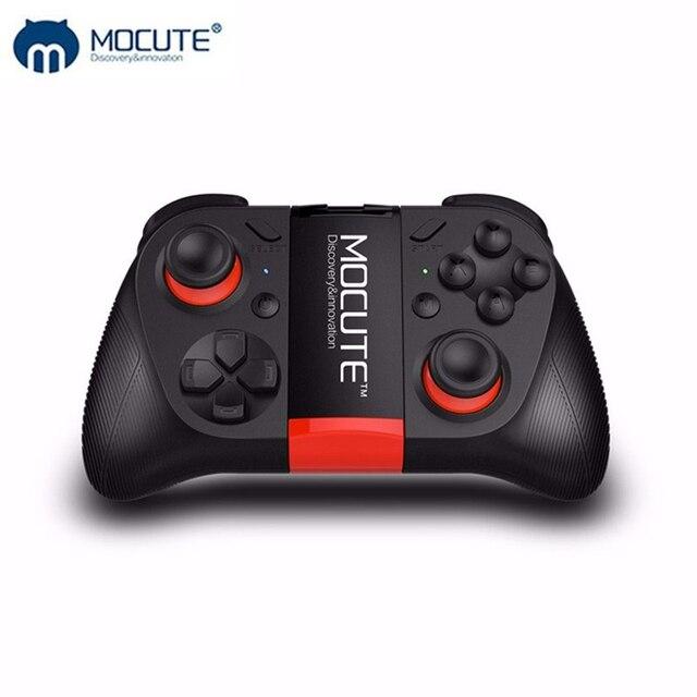 MOCUTE لوحة ألعاب VR 050 ، وحدة تحكم بلوتوث ، عصا تحكم لصور السيلفي ، جهاز تحكم عن بعد للكمبيوتر الشخصي والهاتف الذكي وحامل الهاتف