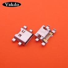 Connecteurs de prise Jack Micro Mini Usb, 100 pièces, pour écran LG K4 M160 K8 M200N K520,X Cam K580,X Power K220DS/2 K500N K500DS