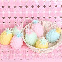 Ananas Stok Muur Bal Stress Relief Plafond Ballen Squash Bal Globbles Decompressie Speelgoed Kleverige Doel Bal Fun Speelgoed Gift