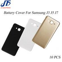 10 pcs/lot J3 J5 J7 2015 remplacement de couverture arrière de batterie arrière pour Samsung Galaxy J310 J510 J710 2016 pièces de châssis de porte de logement