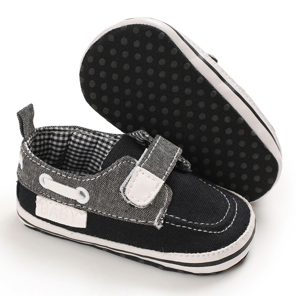 Baby Frenulum Canvas Shoes Sneaker Anti-slip Shoes Kid Baby Girls Boys Cute Toddler First Walk  Plaid Casual Shoes L1226