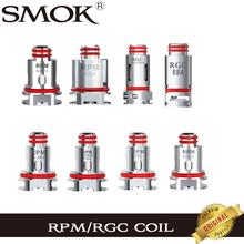 SMOK RPM cewka siatka potrójna i kwarcowa 1 2ohm SC 1 0ohm RPM RBA MTL siatka RGC stożkowa siatka RGC RBA dla RPM80 i RPM80 Pro Fetch Pro tanie tanio SMOK RPM Coil SMOK RPM40 Pod Vape DS Dual