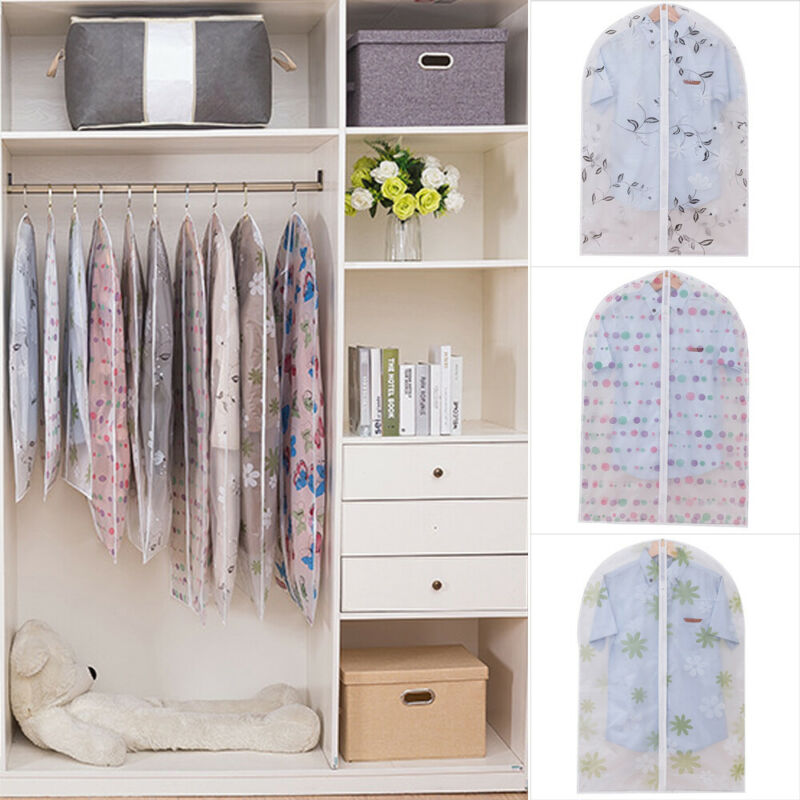 Clothing Covers Hanger Coat Suit Carrier-Bag Dress Garment-Storage Protect Travel Functional title=