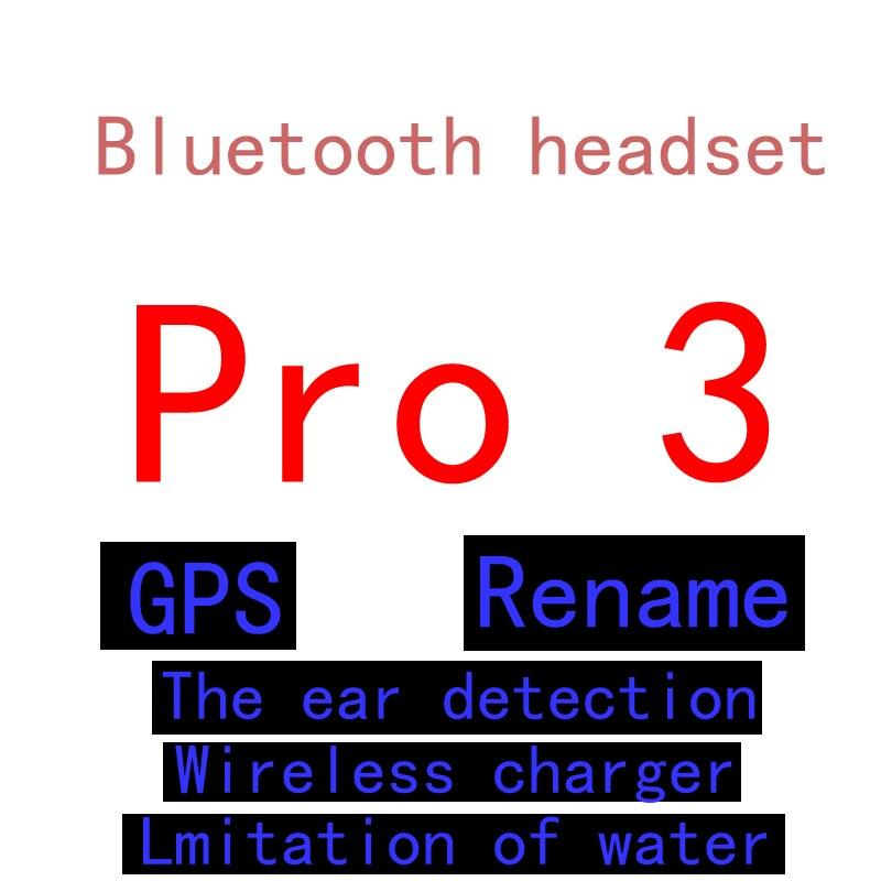 Tws pro 2 3 fone de ouvido sem fio bluetooth fone de ouvido de alta qualidade do telefone móvel atacado