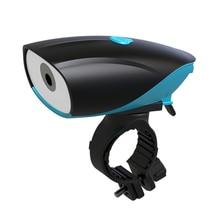 Bicycle Bike Bell 140db Electric Bicycle Horn Alarm Bell Bike Light MTB Bike Multifunction Ultra Bright Electric Horn Bike Bell недорого