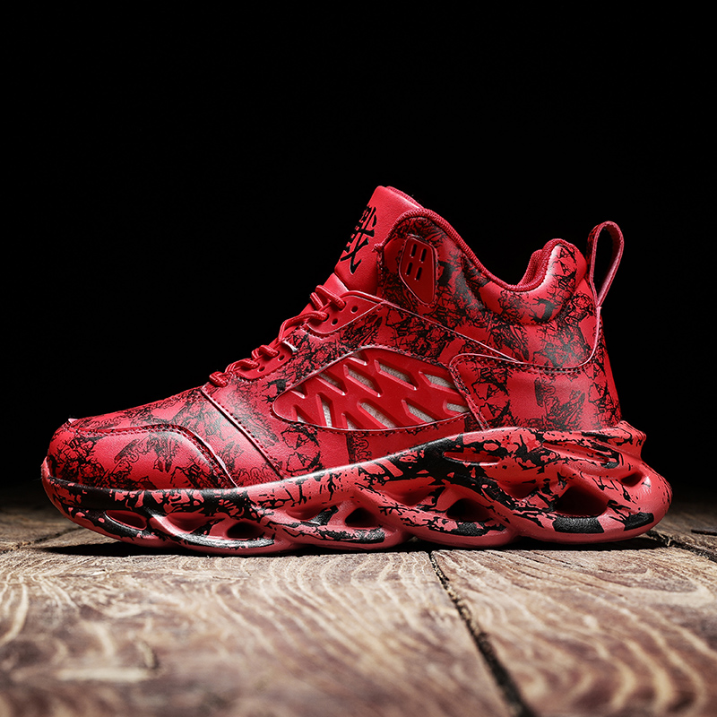 2020 New Graffiti Men Sneakers Increase Casual Men Shoes Breathable Basketball Shoes Lightweight Running Footwear Zapatillas