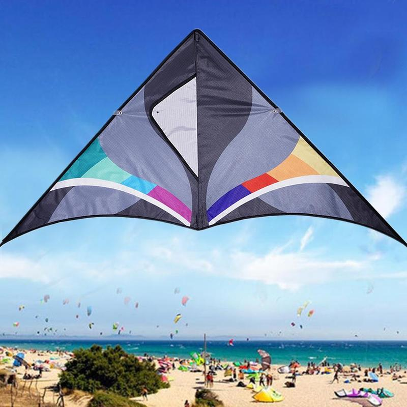 Triangular Kite S 30m Line Weifang Kite Sports Beach Nylon Kite Line Children's Kite Flying Accessories