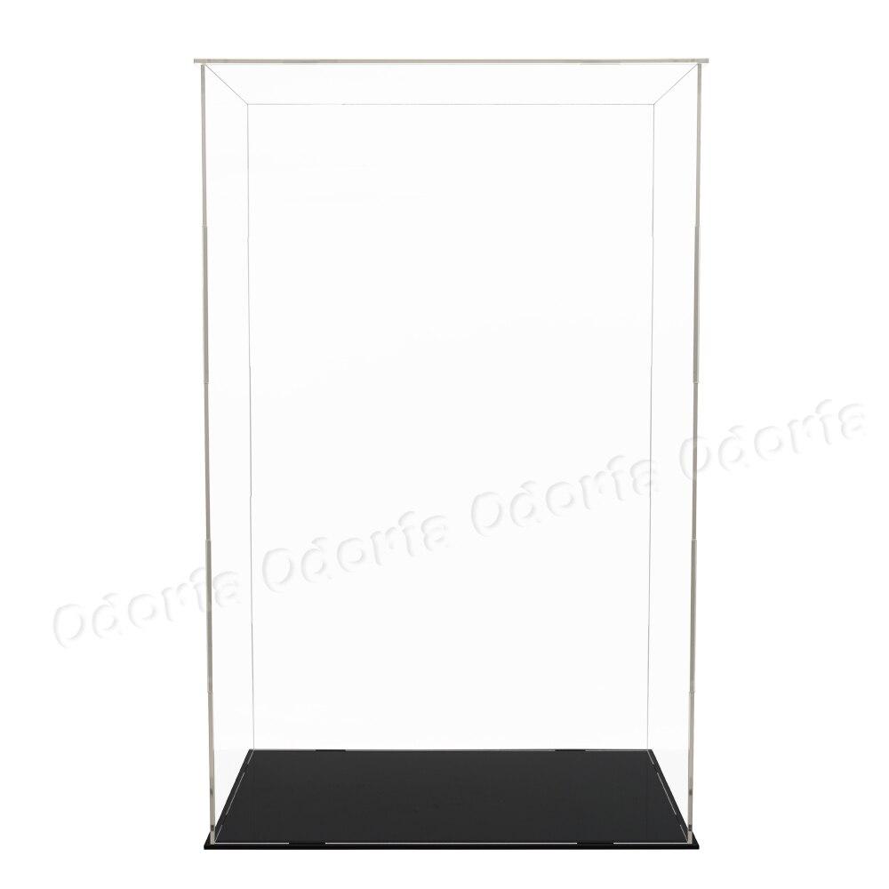 Odoria Clear Acryl Vitrine 52cm H Zelf assemblage Perspex Box Stofdicht Voor 1/4 Action Figure Modellen Poppen collectibles-in Model Accessoires van Speelgoed & Hobbies op  Groep 3
