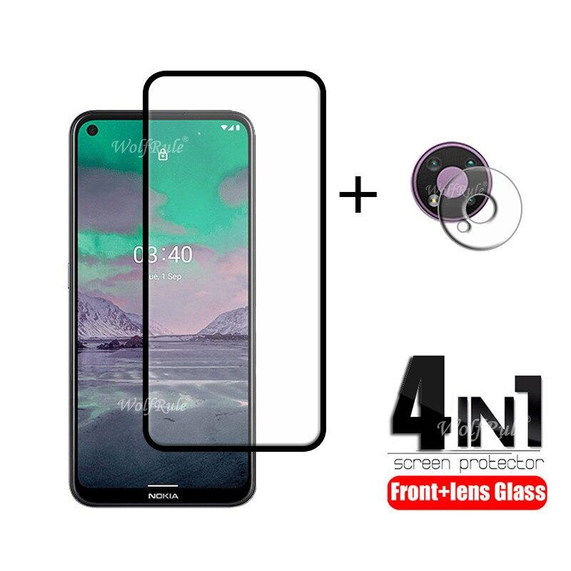 4-в-1 для Nokia 3,4 стекло для Nokia 3,4 закаленное стекло Full HD защита экрана защитная камера Flim для Nokia 3,4 стекло объектива