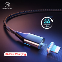 3A Magnetic charge Cable For iPhone XS X XR 7 Fast usb c cable Samsung s9 charger charging wire phone cord
