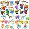 Disney Jurassic World Building Blocks 8pcs/lot Dinosaur Triceratops Bricks Animals Educational Toys For Children Christmas Gifts