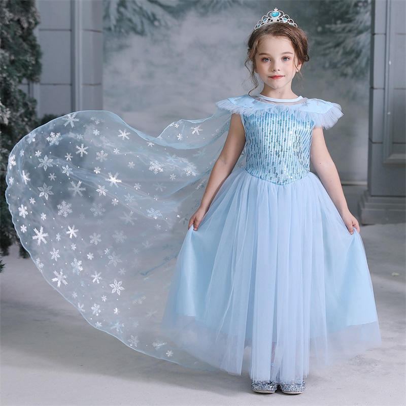 Hd693fe73b3e441228f0200983cac4d81o 2019 Children Girl Snow White Dress for Girls Prom Princess Dress Kids Baby Gifts Intant Party Clothes Fancy Teenager Clothing