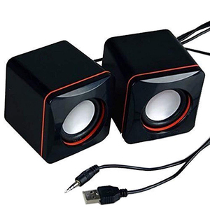 Portable Computer Speakers USB Powered Desktop Mini Speake Bass Sound Music Player System Wired Small Loudspeaker For PC Laptops