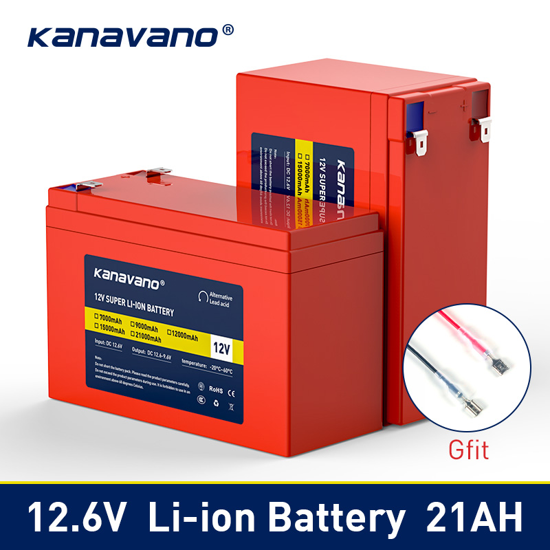 12V 7Ah 9Ah 12Ah 15Ah 21Ah Lithium Li-ion Rechargeable Battery Pack For Kids Electric Cars Toy Sprayer Scale Access Control